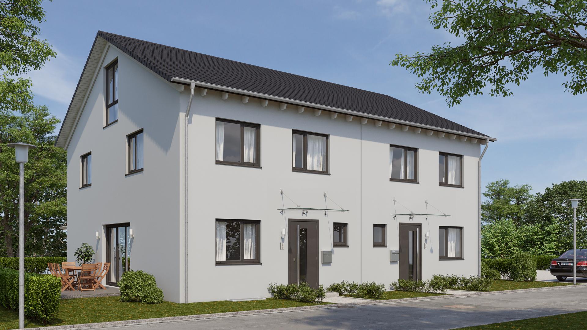 Doppelhaushälften in Schongau
